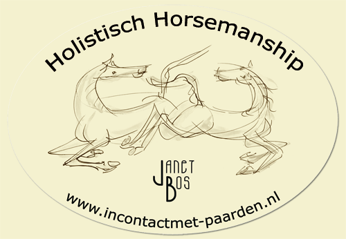 Janet Bos - in contact met paarden