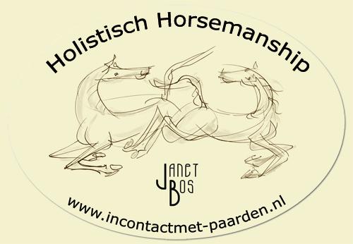 Janet Bos - in contact met paarden
